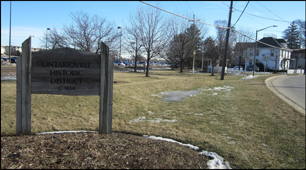 ontarioville sign